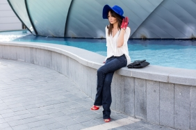 Royal (blue) Hat || SomethingAboutHer